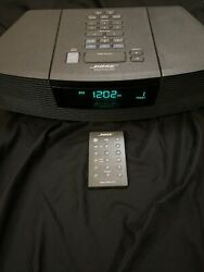 Bose Wave Radio CD Player Stereo Alarm Clock Model AWRC1G With Remote