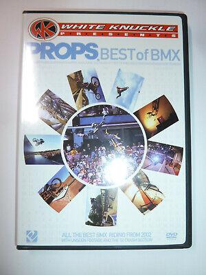 Props Best of BMX 2002 DVD BMX biking extreme sports bike tricks White