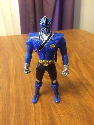 Power Rangers Samurai MORPHIN BLUE RANGER 6.5