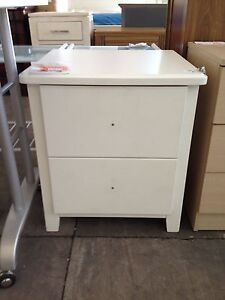 White 2 draw bedside lot 373 St Marys Penrith Area Preview