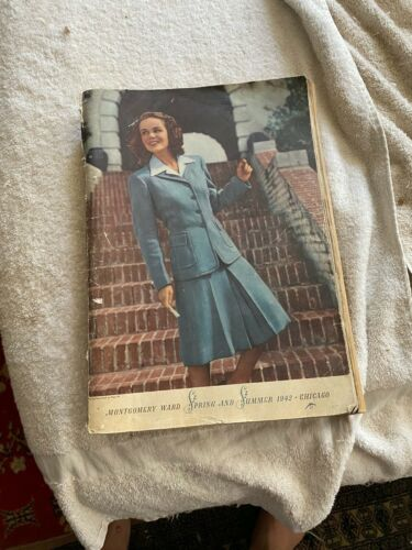 Montgomery Wards Spring Summer Catalog 1942 Chicago