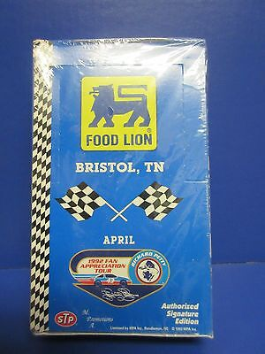 1992 Food Lion Bristol  Tn  Nascar Trading Cards