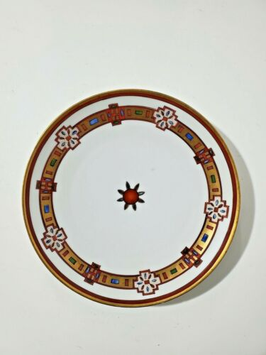 "Pickard ROYAL AUSTRIA O&EG Hand Painted Plate Navajo Pattern Signed  9"""