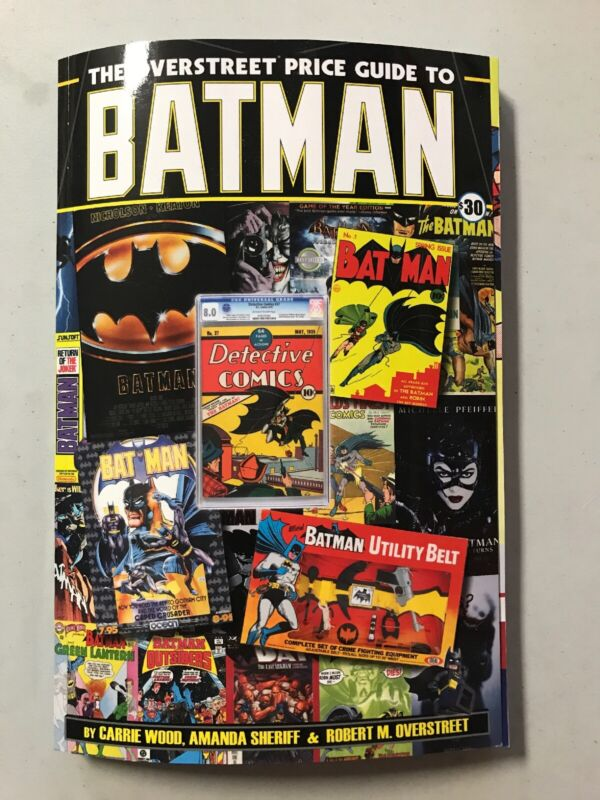 The Overstreet Price Guide to Batman (Paperback or Softback)