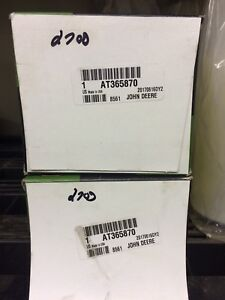 Two John deer filters At365870 part number $25 for the pair