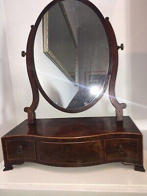 Georgian Mahogany Toilet / Dressing Table Mirror