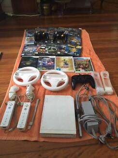 Nintendo Wii for sale! Great variety of games!