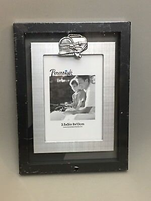 Newell Rubbermaid Picture Frame Perennials Tools Father Day Gift 3 5X5 Photo New
