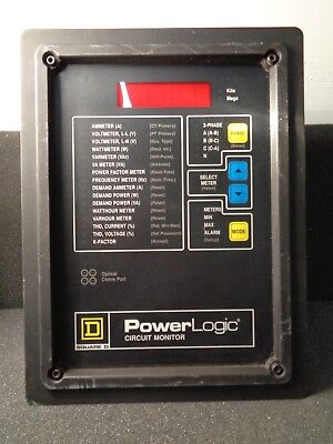 Square D Power Logic 3020-cm2350 Circuit Monitor