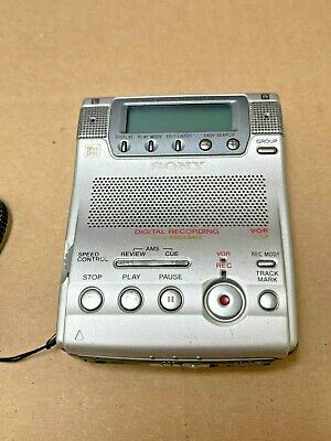 Sony MZ-B100 MiniDisc Recorder Player Built in Microphone