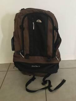 Black Wolf 75L Travel Backpack