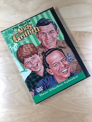 The Best of The Andy Griffith Show (DVD, 1997) Three Hilarious Episodes