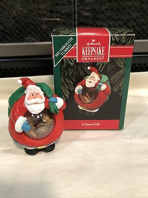 1992 A Santa-Full Hallmark Keepsake Christmas Ornament Tree Decoration T20 NIB