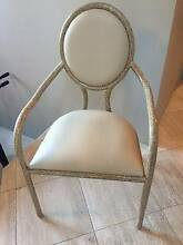 6 NEW HIGH END DESIGNER LEATHER DINING CHAIRS  STILL WITH TAGS Hunters Hill Hunters Hill Area Preview
