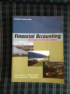 FOR SALE - Financial Accounting textbook