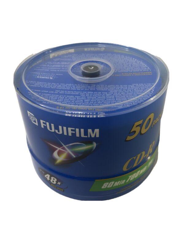 Fujifilm CD-R 80 Min. 700MB 50-Pack New