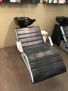 hairdressing basin chairs and basins Woolloomooloo Inner Sydney Preview