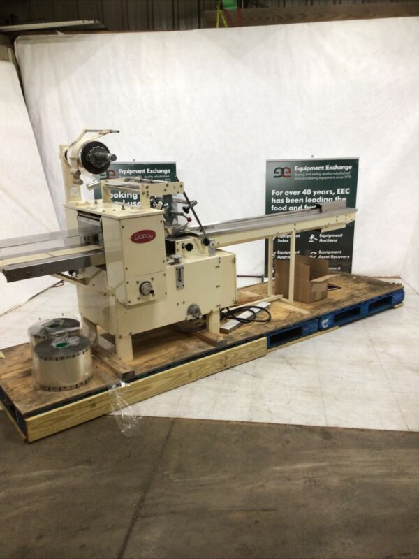 Doboy Scotty II Horizontal Flow Wrapper with Extra Film and Forming Head