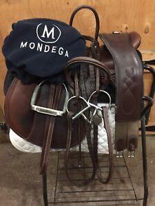 "17"" Mondega Conquista Close Contact Saddle For Sale!"