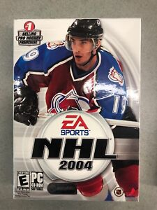 Brand New NHL 2004 Joe Sakic Cover For PC VERY RARE Hard To Find