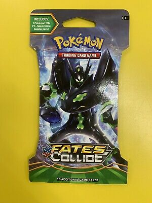 Pokemon XY Fates Collide 10 Card Booster Pack