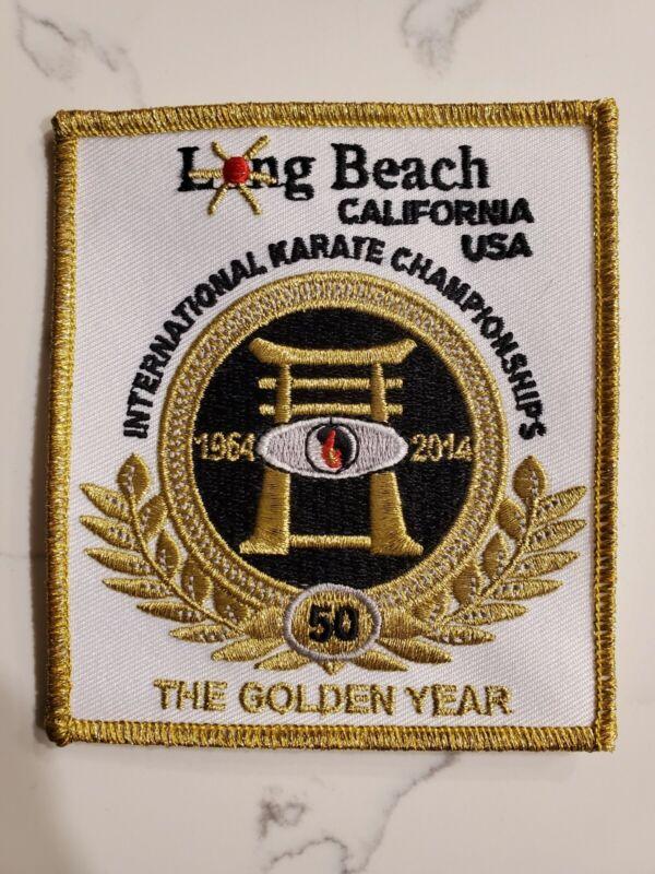 Long Beach International Karate Championships 50th Anniversary Patch