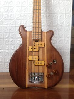 SD Curlee Bass Guitar Very Rare Vintage hand built from USA.