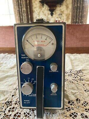 1955 Detectron Model Ds-277 Radiation Detector Scintometer Geiger Excellent