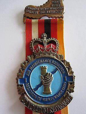 German Canadian 85 Volksmarch Wandertag Gold Medal Baden Soellingen 1 A M S
