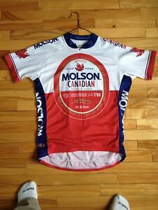 Molson Canadian bike jersey by Primal Wear
