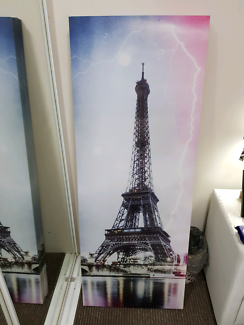 Eiffel Tower 2x Canvas