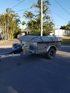 Off Road Stainless Steel Camper Trailer