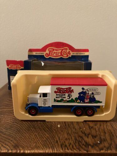 Pepsi Cola Miniature Die Cast Truck-1937 Scammell 6 Wheeler-#44017
