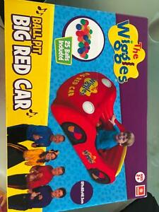 The Wiggles Big Red Car Ball PitThe Wiggles ToysInflatable Ball Pits Balls