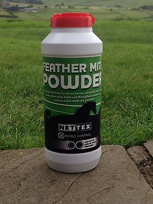 NETTEX FEATHER MITE  POWDER 200G  for HORSES and PONIES