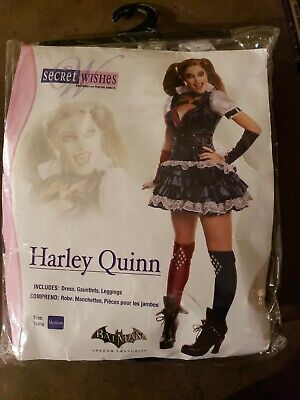 Secret Wishes 880586M Halloween Harley Quinn Costume - Size M, Multi Color