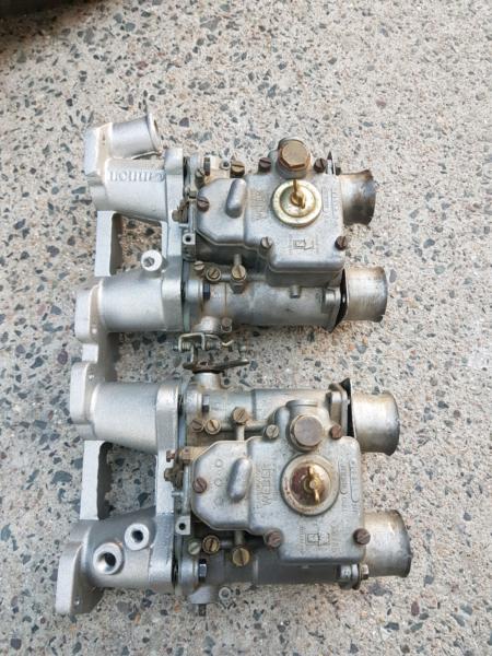Z24 Manifold For Twin Webers Nissan Navara D21 Datsun Engine