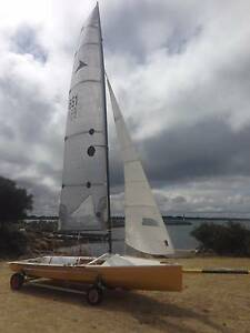 Javelin 14 Skiff Dinghy Dawesville Mandurah Area Preview