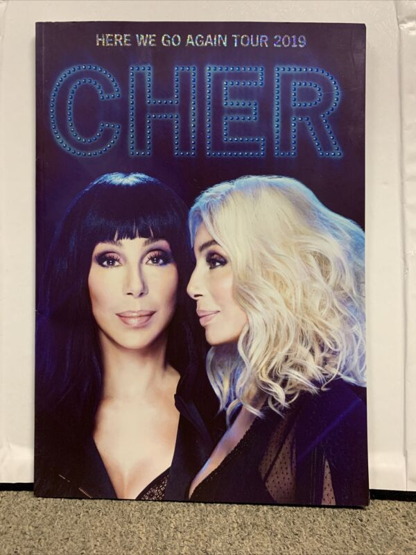 "Cher 2019 ""Here We Go Again Tour"" Program in excellent condition Beautiful"