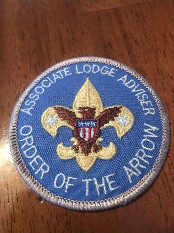 OA Lodge Adviser Position Patch, New