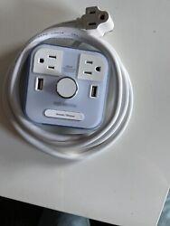 | CubieTime White | User Friendly & Convenient Alarm Clock Charger | 2 USB Port
