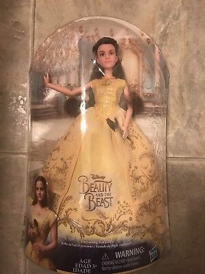 NEW UNOPENED  Hasbro Disney's Beauty and The Beast Enchanting Ball Gown Belle