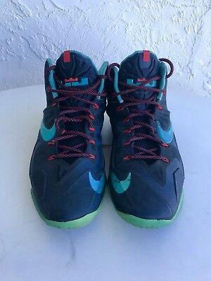 8366602f0c3 Nike Lebron James Flywire Men s Black Size 12 Basketball Shoes UNIQUE NBA  KING