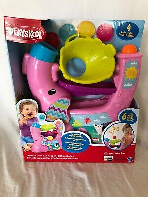 Ball Popper Toy (Playskool Chase 'n Go Ball Popper Pink Brand New with Damaged)