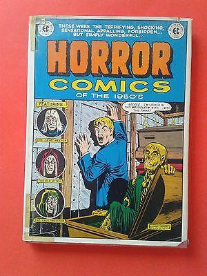 HORROR COMICS OF THE 1950s - EC HORROR LIBRARY - COLOR - NOSTALGIA PRESS 1971