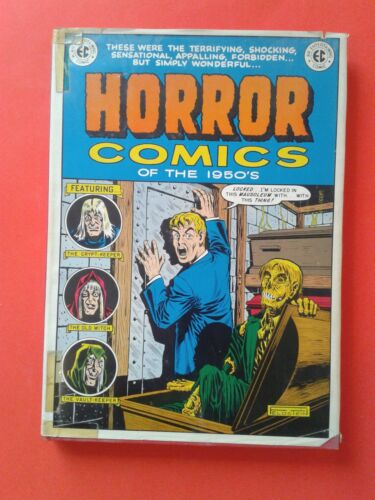 HORROR COMICS OF THE 1950s - EC HORROR LIBRARY - COLOR - NOSTALGIA PRESS 1971