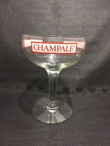 Vintage CHAMPALE Oversize Advertising Glass - c1967