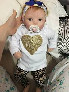 Sold:Reborn Baby Girl Doll - LIfeLIke Docklands Melbourne City Preview