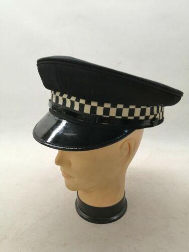 Peak Cap Black Nylon Uniform Patrol Duty Security Work Officer Theatre Grade 2