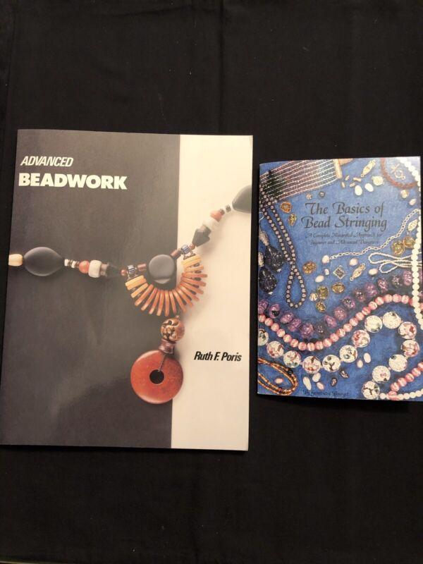 Beading Books-Advanced Beadwork & Basics Of Bead Stringing Both $13.00New